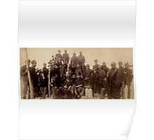 Buffalo Soldiers - Historic Photograph Poster