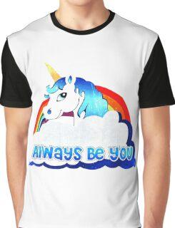 Central Intelligence Unicorn parody funny Graphic T-Shirt