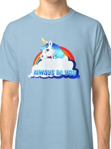 Central Intelligence Unicorn parody funny Classic T-Shirt
