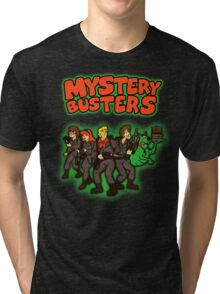 Mystery Busters (by Andriu and Legendary Phoenix) Tri-blend T-Shirt