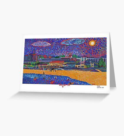 Bondi Beach Art Greeting Card