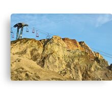 Lonely Lift Canvas Print