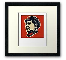 Chairman Mao Tse-Tung Framed Print