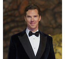 Benedict Cumberbatch - Oil Paint Art (Square) Photographic Print