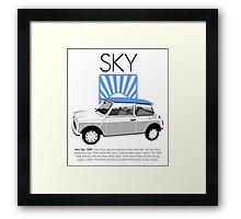 Classic 1989 Mini Sky Framed Print