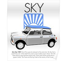 Classic 1989 Mini Sky Poster