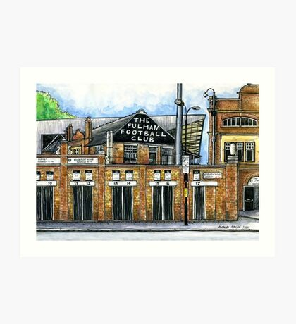 Fulham Football Club Art Print