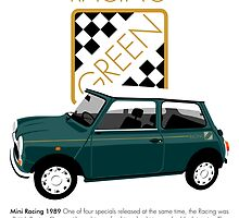 Classic 1989 Mini Racing by car2oonz