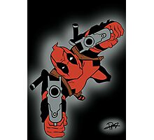 Deadpool Falling  Photographic Print