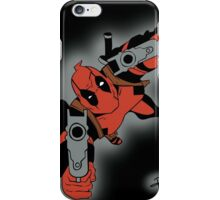 Deadpool Falling  iPhone Case/Skin