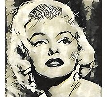 Marilyn Monroe Vintage Hollywood Actress Photographic Print