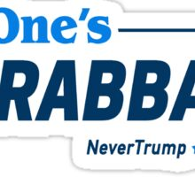This One's Ungrabbable: Anti Trump Sticker