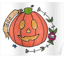 Boo // Emoji Tattoo Series Poster