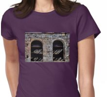 Empty Shell Womens Fitted T-Shirt