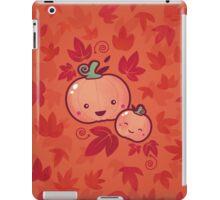 Fall Frolic (in orange) iPad Case/Skin