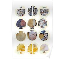 Multifaceted No.4, Stones and Roses (Light, Time & Facade Series) Poster