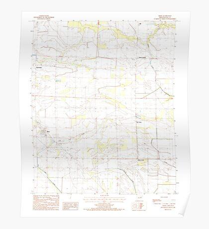 USGS TOPO Map Arkansas AR Moro 259130 1984 24000 Poster