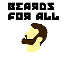 Beards for all Photographic Print