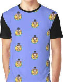 Monkey wizard with stars Graphic T-Shirt
