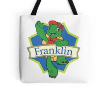 Franklin the turtle Tote Bag