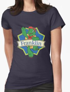 Franklin the turtle Womens Fitted T-Shirt