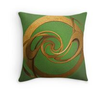 Twisted Idea Throw Pillow