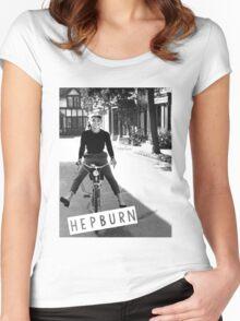Hepburn #1 Women's Fitted Scoop T-Shirt