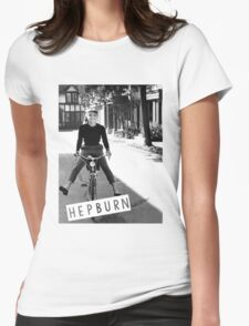 Hepburn #1 Womens Fitted T-Shirt