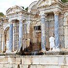 Roman fountain ~ Perga, Turkey  by Jan Stead JEMproductions