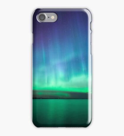 Beautiful northern lights iPhone Case/Skin