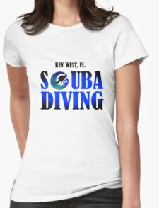 Key West Scuba Womens Fitted T-Shirt