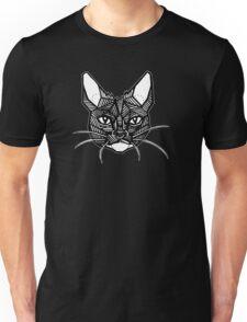 Geometric Cat Tattoo Unisex T-Shirt