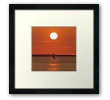 Sous le soleil exactement Framed Print