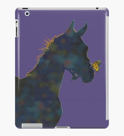 Foal and his  Butterfly Friend iPad Case/Skin