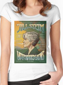 Jill Stein - Vote Green 2016 Women's Fitted Scoop T-Shirt
