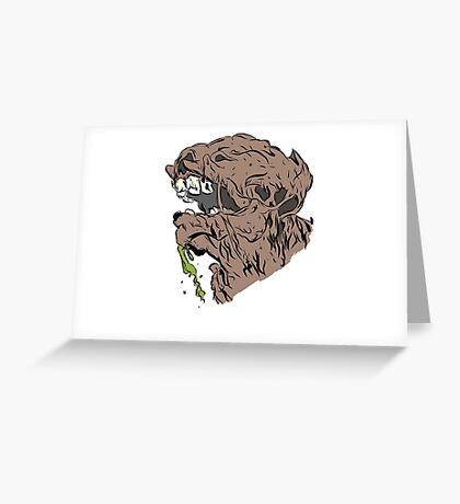 My Boyfriend Is A Monster Greeting Card