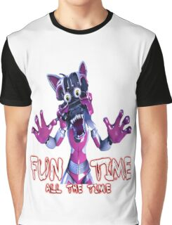 Fun Time All The Time Graphic T-Shirt
