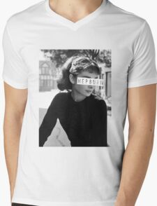 Hepburn #3 Mens V-Neck T-Shirt