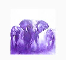 elephants running Unisex T-Shirt