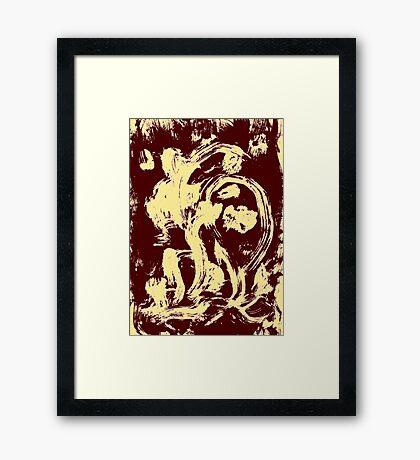 Dragons Nest Framed Print