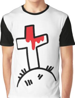 The Bloody Cross Graphic T-Shirt