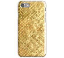 Gold Mosaic iPhone Case/Skin