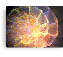 Ribbon Nautilus Metal Print