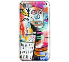 We are Still Philistines, After Basquiat iPhone Case/Skin