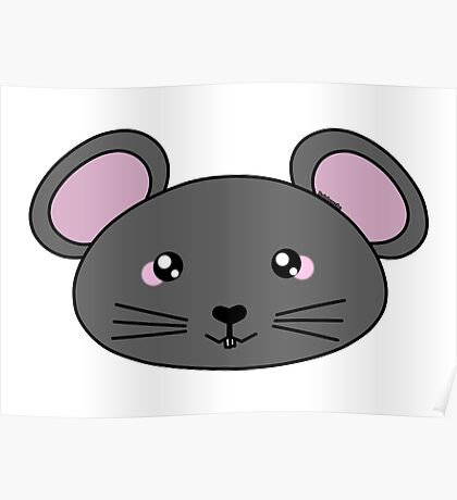 Cute little mouse - Farm animals collection Poster