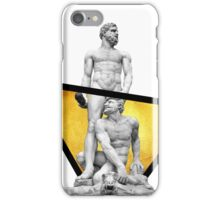 Hercules and Cacus - Statue Pop Art iPhone Case/Skin