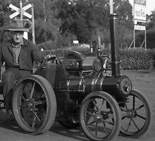 Model Steam Traction Engine by Derwent-01