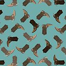 Cowboy Boots pattern by Jeremy Stout