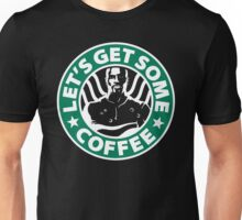 Cage doesn't like coffee. Unisex T-Shirt