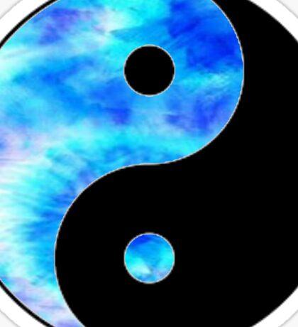 Yin yang- tie dye  Sticker